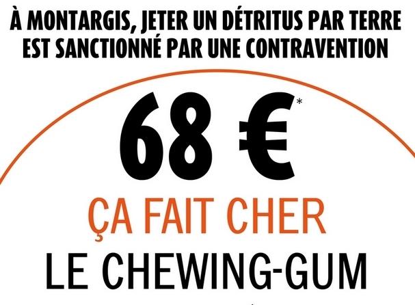 Jeter un mégot par terre: 68€