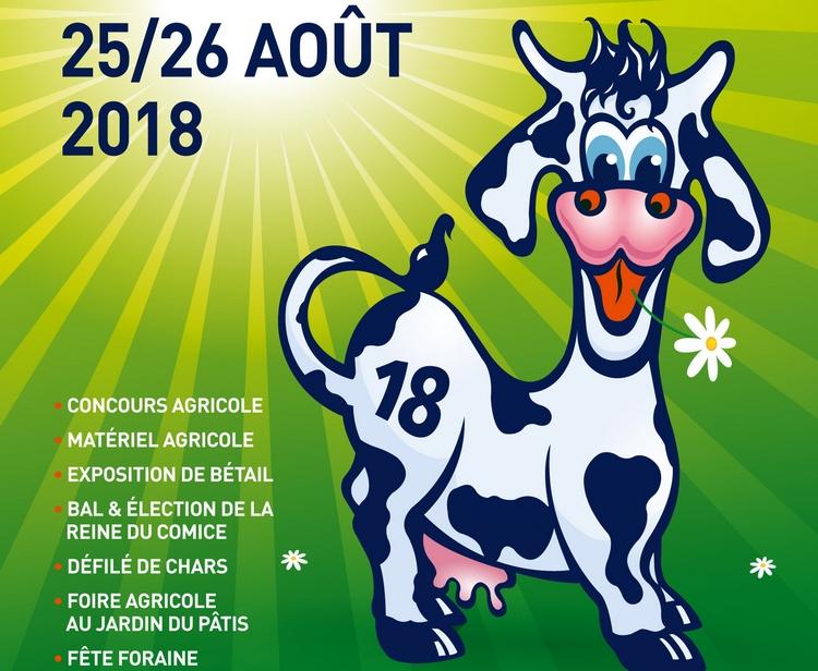 Le comice agricole les  25 et 26 août