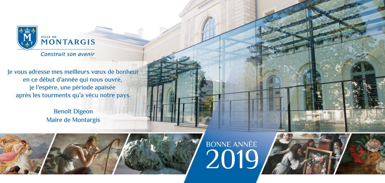 Bonne année 2019! Les voeux du maire de Montargis
