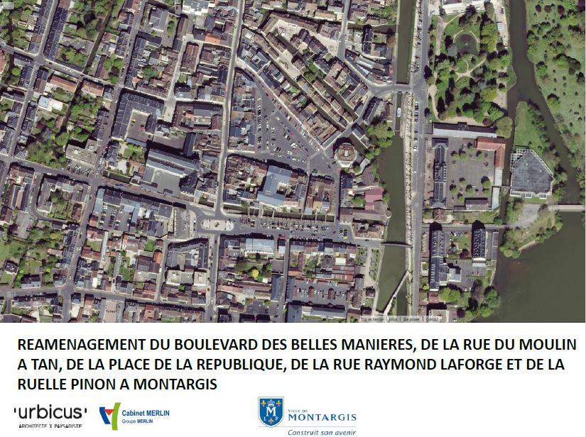 CONCERTATION PUBLIQUE: REQUALIFICATION BELLES MANIÈRES ET PLACE DE LA RÉPUBLIQUE