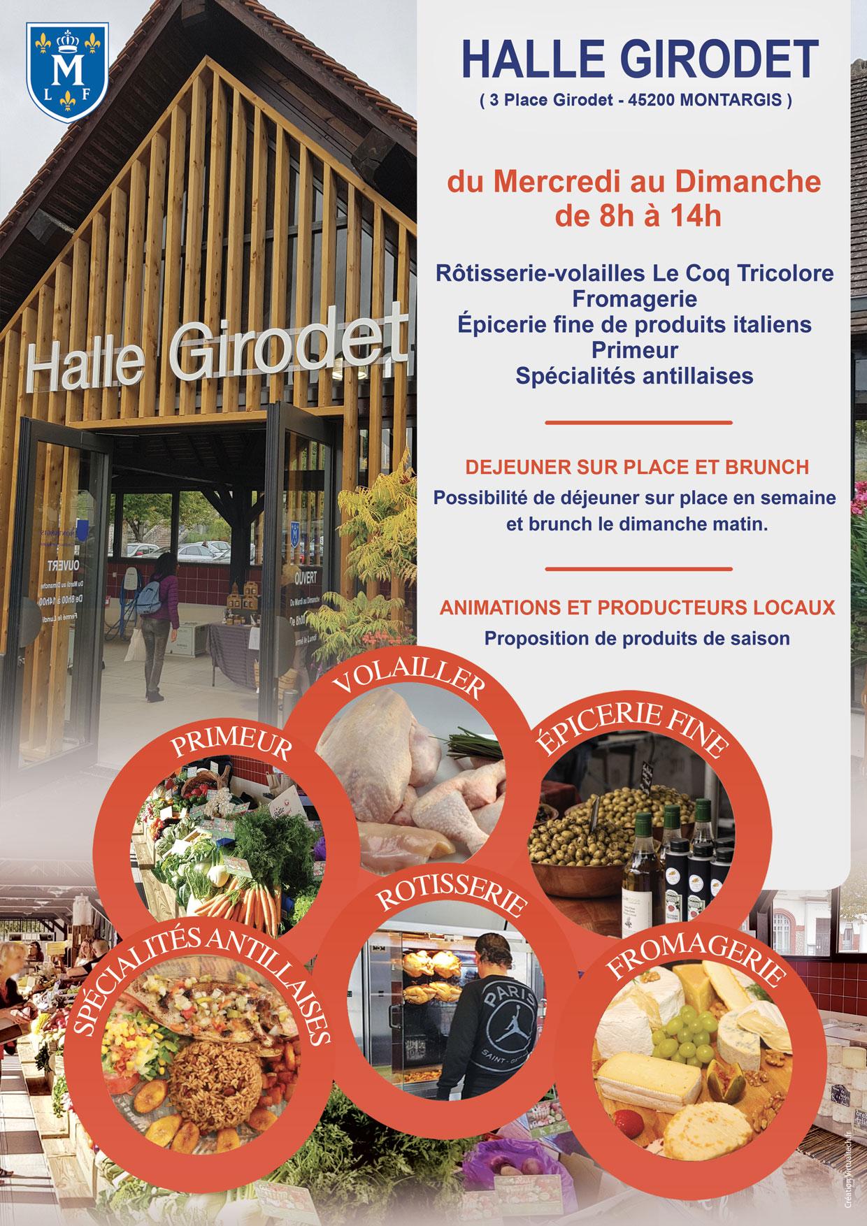 OUVERTURE DE LA HALLE GIRODET