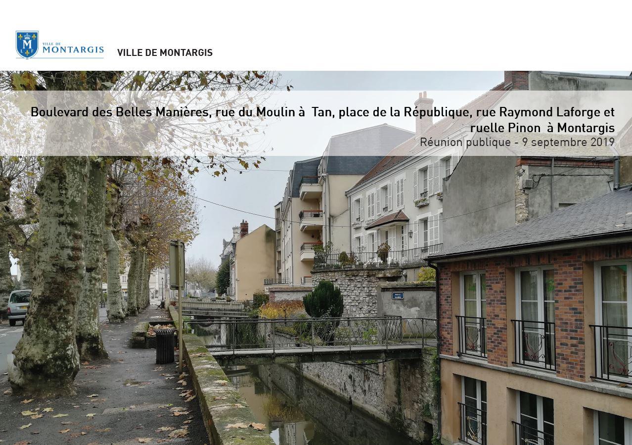 CONSULTATION PROJET TRAVAUX BELLES MANIÈRES ET RÉPUBLIQUE