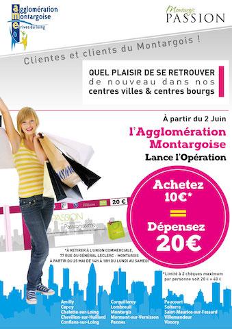 Opération Chèques KDO: Achetez 10€, Dépensez 20€!